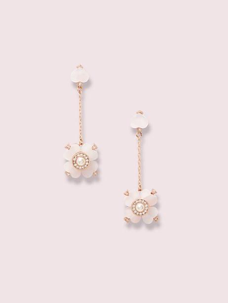 spade flower linear earrings by kate spade new york