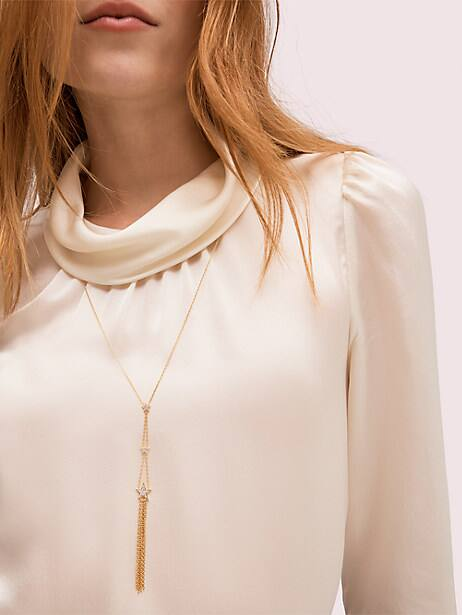 stargaze statement y-necklace by kate spade new york