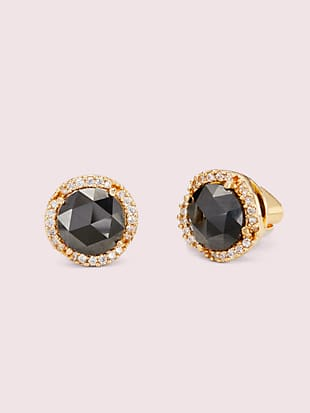 that sparkle pavé round large studs by kate spade new york non-hover view