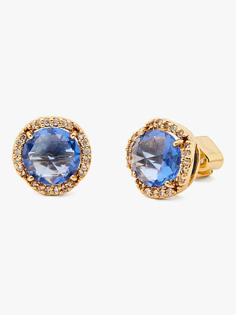 that sparkle pavé round large studs by kate spade new york