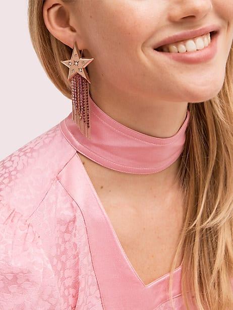 Star of the show fringe earrings   Kate Spade New York