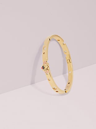 kate spade new york x tom & jerry hinged bangle by kate spade new york non-hover view