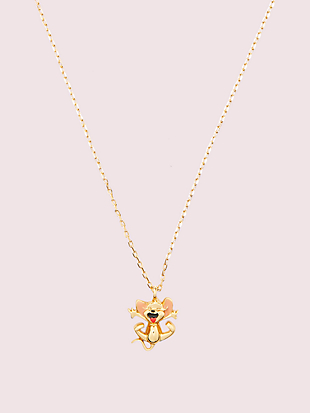 kate spade new york x tom & jerry mini pendant by kate spade new york non-hover view