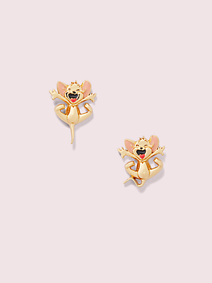 kate spade new york x tom & jerry studs by kate spade new york non-hover view