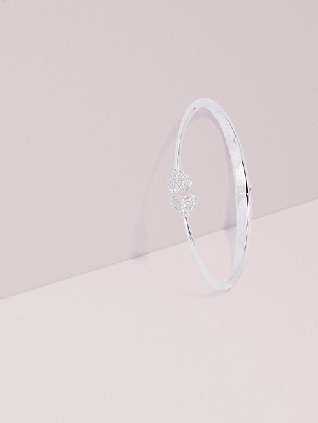 heart to heart open hinged cuff by kate spade new york