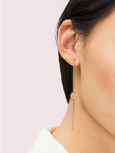 loves me knot pavé linear earrings, , rr_productgrid