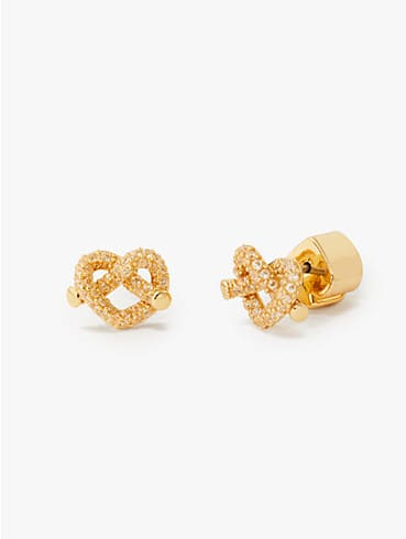 loves me knot pavé mini studs, , rr_productgrid