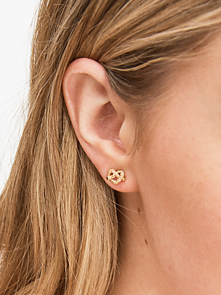pave mini studs by kate spade new york hover view