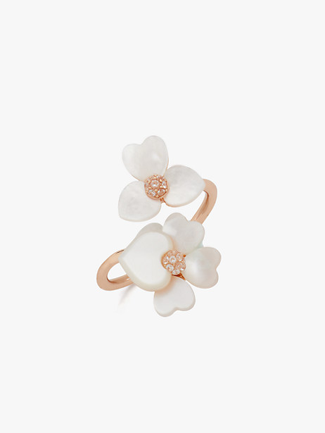 precious pansy wrap ring by kate spade new york