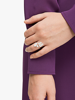 precious pansy wrap ring by kate spade new york hover view