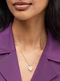 precious pansy mini pendant, , s7productThumbnail