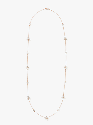 precious pansy scatter necklace by kate spade new york hover view