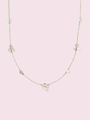 precious pansy scatter necklace by kate spade new york non-hover view