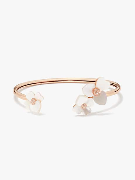 precious pansy flex cuff by kate spade new york
