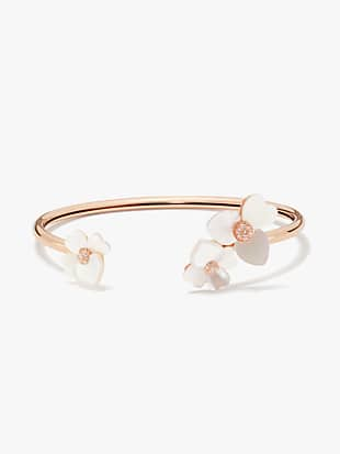precious pansy flex cuff by kate spade new york non-hover view