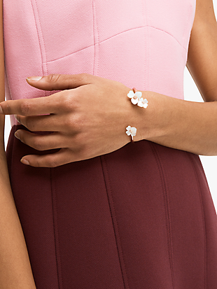 precious pansy flex cuff by kate spade new york hover view