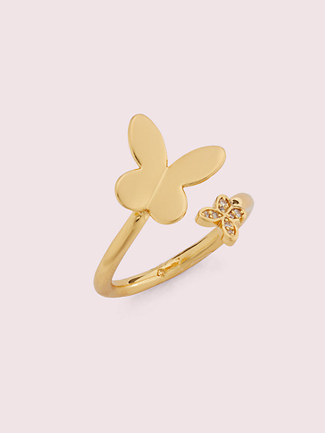 in a flutter wrap ring by kate spade new york