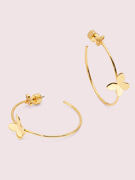in a flutter hoops by kate spade new york