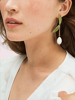 best buds linear earrings by kate spade new york hover view
