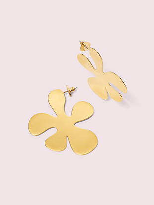 botanical garden statement earrings by kate spade new york non-hover view