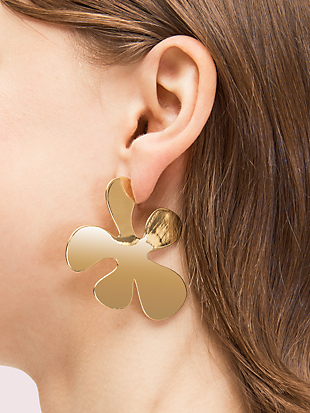 botanical garden statement earrings by kate spade new york hover view