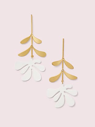 botanical garden linear earrings by kate spade new york non-hover view