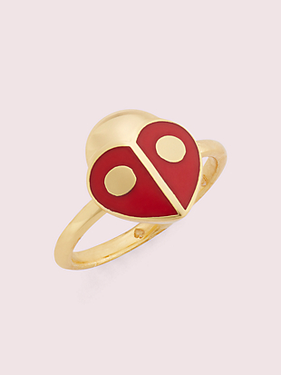 animal party ladybug ring by kate spade new york non-hover view