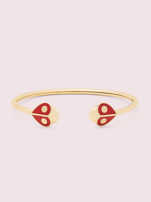animal party ladybug flex cuff by kate spade new york non-hover view