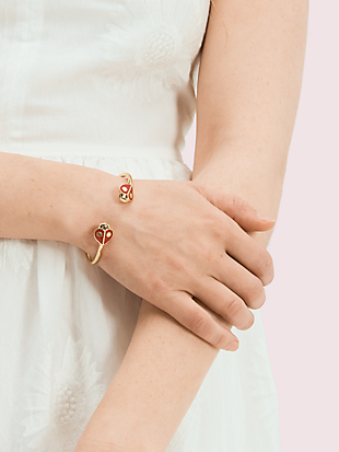 animal party ladybug flex cuff by kate spade new york hover view