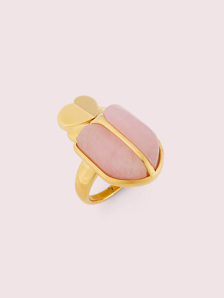 love bugs beetle statement ring by kate spade new york