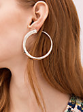 faceted bar wrap hoops, , s7productThumbnail