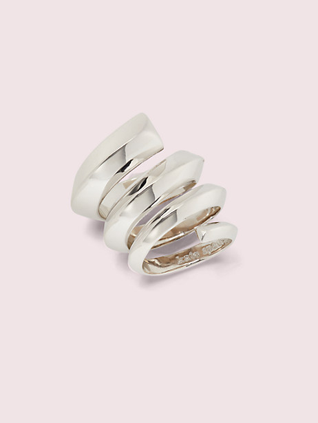 faceted bar ring by kate spade new york