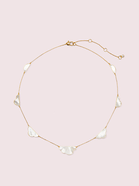 into the sky cloud scatter necklace by kate spade new york
