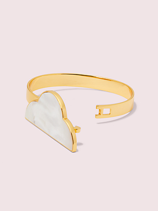 into the sky cloud cuff by kate spade new york hover view
