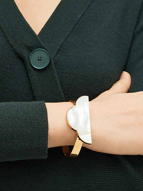 Into the sky cloud cuff   Kate Spade New York