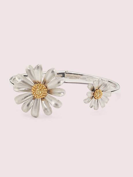 into the bloom open-hinged cuff by kate spade new york