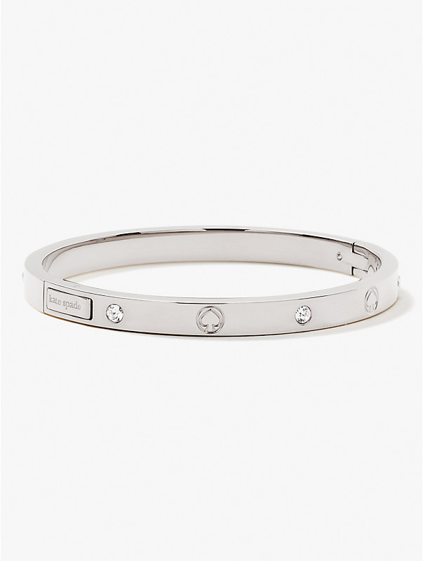 infinite spade engraved spade bangle, , rr_large
