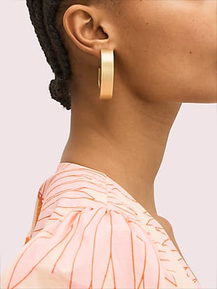 urban jungle hoops by kate spade new york hover view