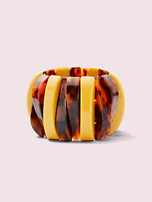 urban jungle asymmetrical stretch bracelet by kate spade new york non-hover view