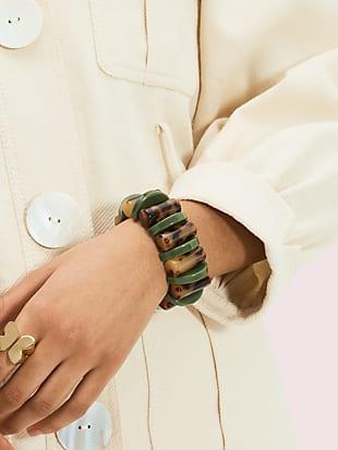 urban jungle stretch bracelet by kate spade new york hover view