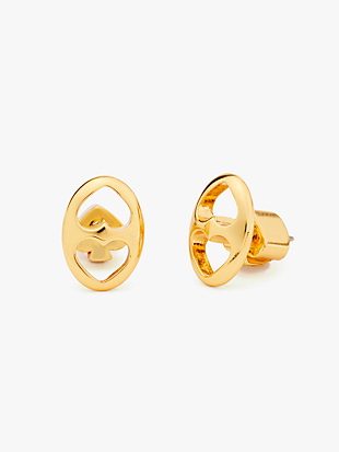 duo link studs by kate spade new york non-hover view