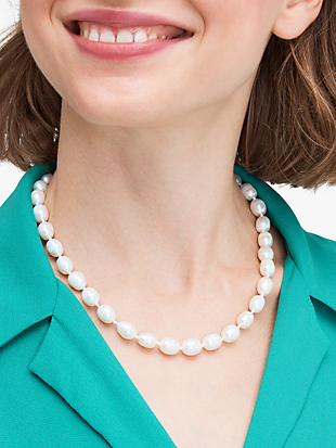 pearl drops pearl necklace by kate spade new york hover view
