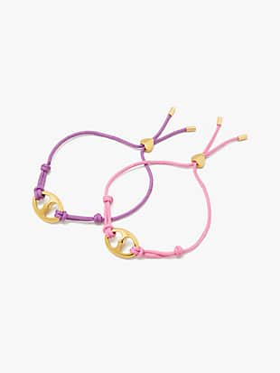 cord bracelet set by kate spade new york non-hover view