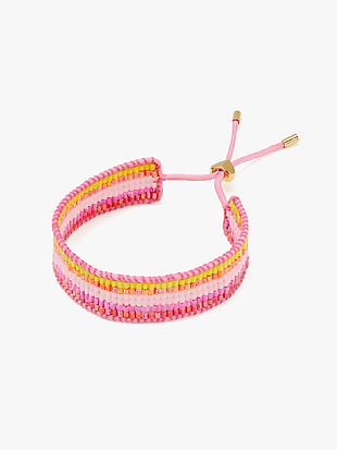 5-stripe seed bead bracelet by kate spade new york non-hover view