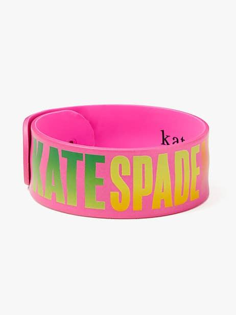 ombré-logo slap bracelet by kate spade new york