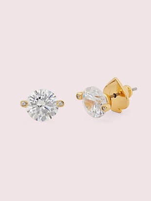 brilliant statements duo-prong studs by kate spade new york non-hover view