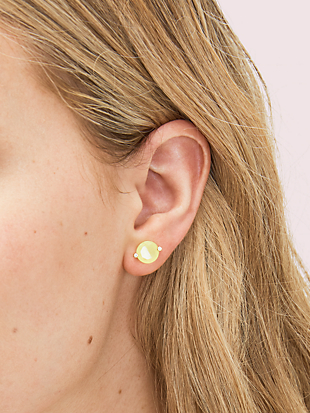 brilliant statements duo-prong studs by kate spade new york hover view