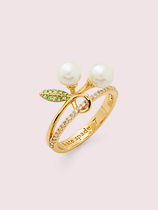 cherie cherry ring by kate spade new york non-hover view