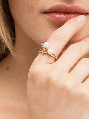 cherie cherry ring by kate spade new york hover view