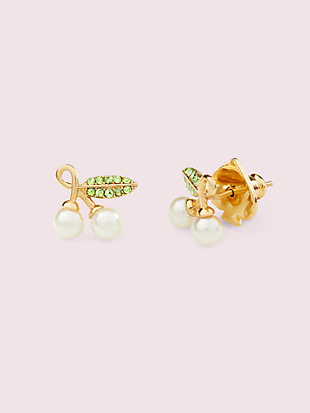 cherie cherry studs by kate spade new york non-hover view